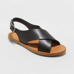 Universal Thread Crossband Slide Sandals